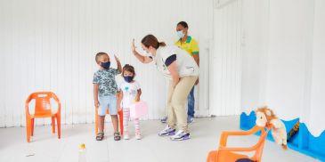 En Providencia ICBF reabrió Centro de Desarrollo Infantil para los niños