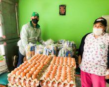 Finalizó en Boyacá la segunda entrega de canastas alimentarias y kits pedagógicos del ICBF
