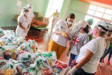 Directora ICBF verifica en el Valle del Cauca que las canastas alimentarias cumplan la minuta nutricional