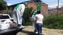 ICBF entregó kits de aseo a niños y adolescentes migrantes que se encuentran en Medellín