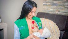 ICBF destaca los beneficios de la lactancia materna entre mujeres beneficiarias en Córdoba