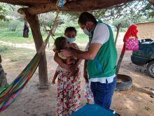 Unidades de Búsqueda Activa del ICBF focalizan niñas con desnutrición en La Guajira