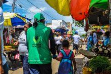 ICBF lidera jornadas de verificación de derechos a niños y adolescentes en el mercado de Maicao