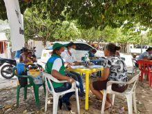 Unidades Móviles del ICBF atienden a 178 familias afectadas por vendaval en Tamalameque (Cesar)