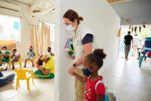 ICBF reabre Centro de Desarrollo Infantil para los niños y niñas de la primera infancia en la isla de Providencia