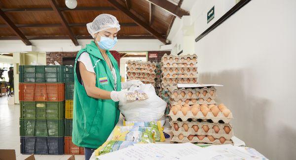 ICBF presentó acciones de trabajo en materia de seguridad alimentaria y nutricional durante la cuarentena