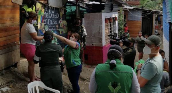 ICBF atiende 76 familias en situación de vulnerabilidad en Neiva