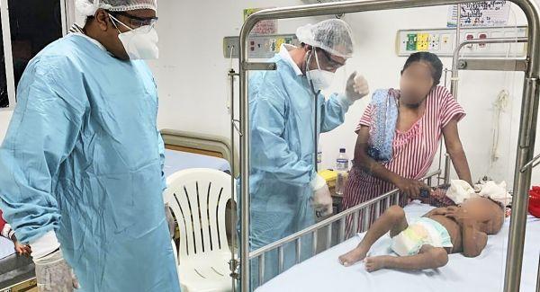 ICBF traslada niño con desnutrición a Centro de Recuperación Nutricional en Manaure