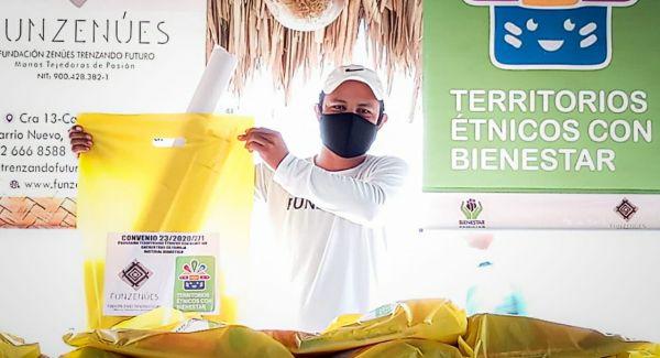 ICBF promueve la reconciliación en 259 familias de la etnia Zenú en Chimá, Córdoba