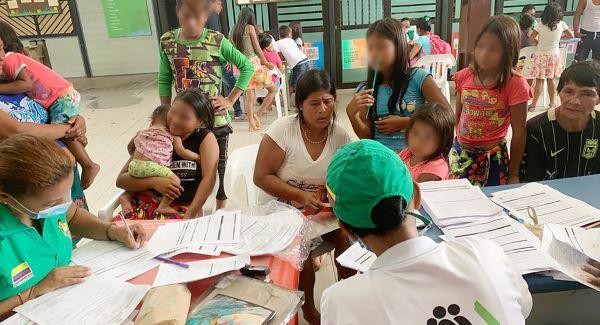 Unidades Móviles del ICBF brindan acompañamiento psicosocial a familias en Bahía Solano, Chocó