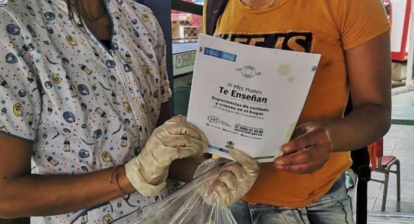 ICBF sigue llevando canastas nutricionales y kits pedagógicos a familias en Boyacá