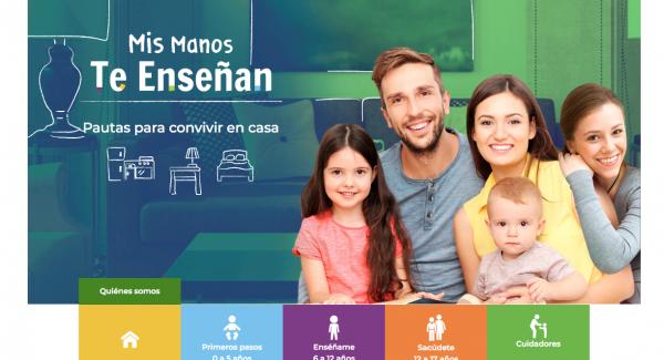 A un mes de su lanzamiento, la plataforma digital del ICBF Mis Manos Te Enseñan ha recibido más de 410.000 visitas