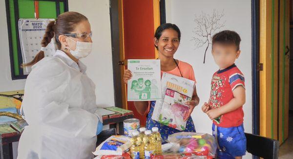 ICBF ha entregado más de 9 mil cartillas Mis Manos Te Enseñan junto a canastas nutricionales en Quindío