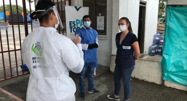 ICBF atiende a familias vulnerables que se encuentran en albergue en Quindío