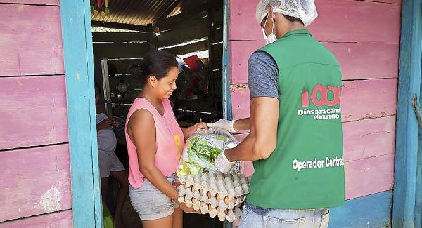 ICBF previene la desnutrición en niños y mujeres gestantes con bajo peso en Córdoba