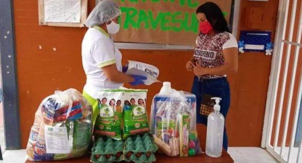 ICBF avanza con entrega de 10.494 canastas alimenticias a la niñez en Casanare