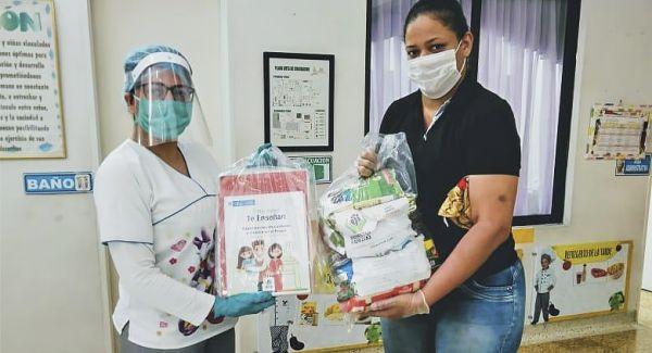 ICBF inició entrega de kits pedagógicos junto a canastas nutricionales a familias en el Valle del Cauca
