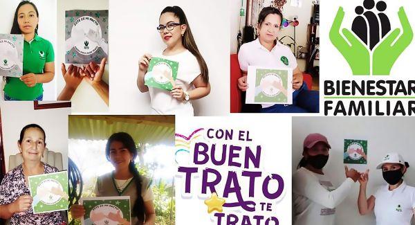 ICBF fomenta el buen trato en las familias de Pitalito, Huila