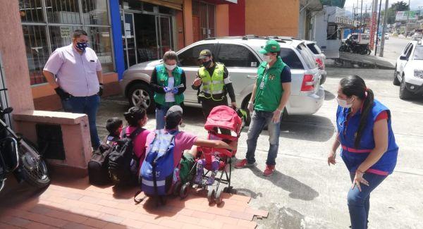 CBF recorrió zonas de Popayán para brindar atención a migrantes venezolanos