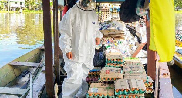 ICBF sigue comprometido con la entrega de canastas nutricionales en Amazonas