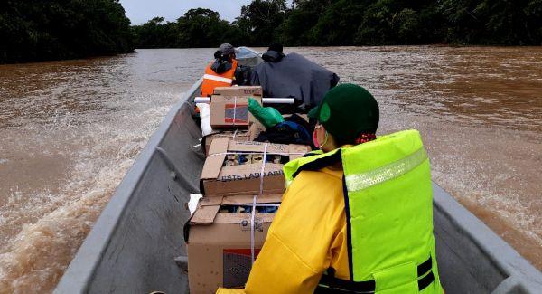 ICBF culminó la segunda fase de entregas de canastas alimentarias en Putumayo