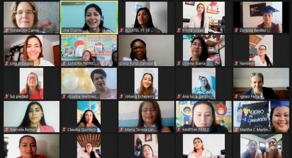 Directora ICBF acompaña virtualmente a 101 madres comunitarias del Valle en ceremonia de graduación