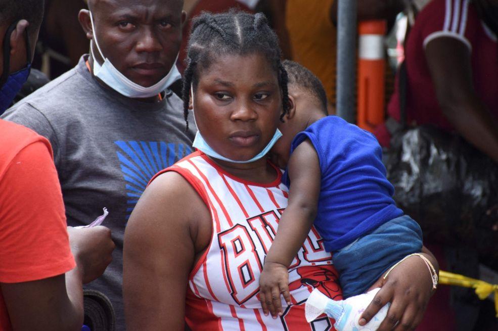 ICBF realiza acompañamiento a menores de edad migrantes en Necoclí