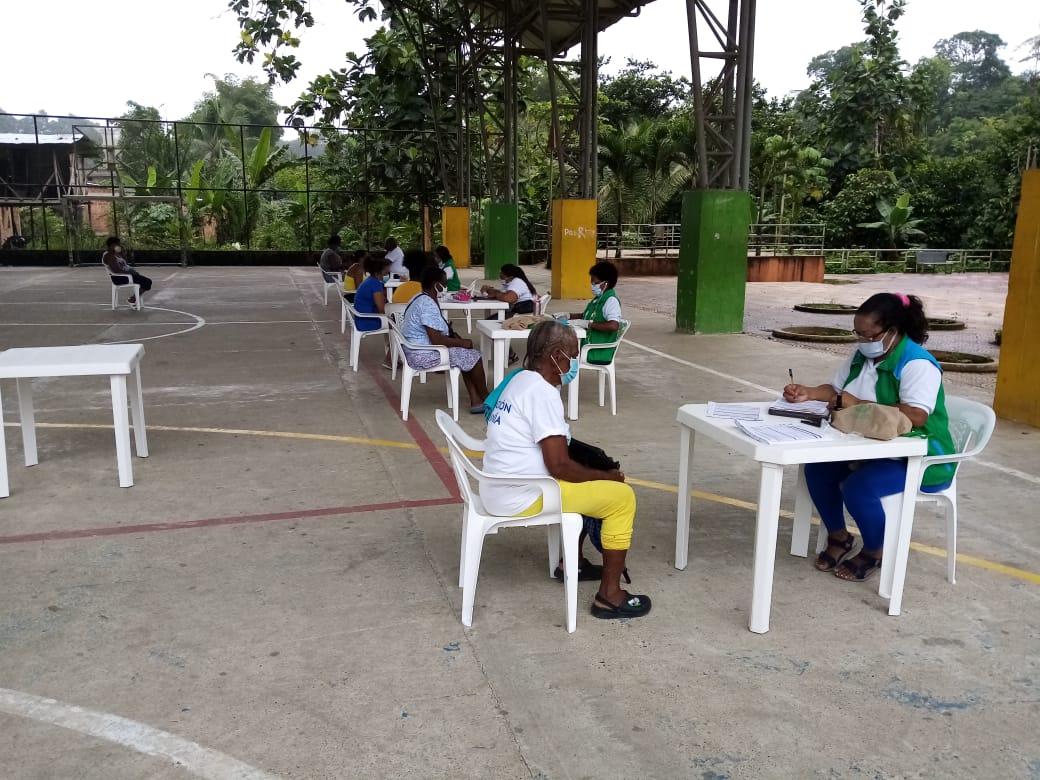 Unidades Móviles del ICBF realizaron jornadas de atención a familias de 5 municipios chocoanos