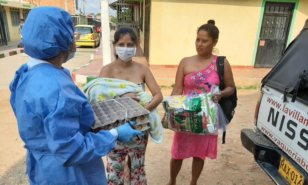 ICBF distribuye canastas alimentarias a niños en riesgo de desnutrición y mujeres gestantes con bajo peso