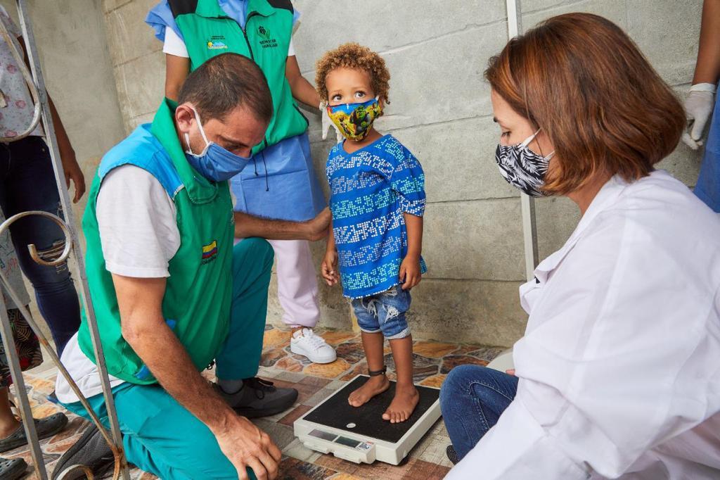 Muerte de niñas y niños por desnutrición registra disminución del 39,2 %